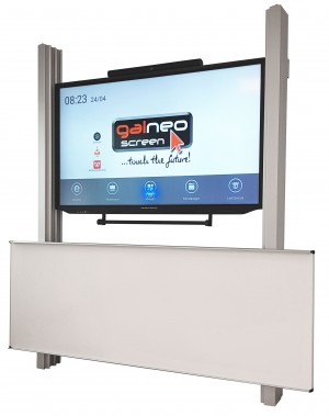 "Interaktive Tafel mit 86"" Display"