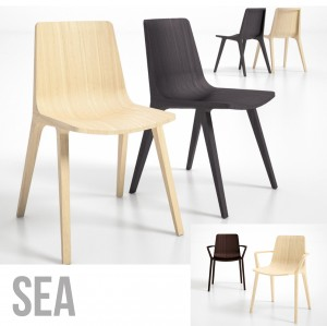 "Holzstuhl ""SEA Design Massiv"""